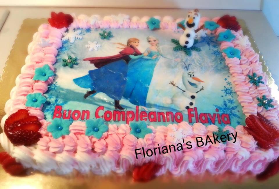 Cake froze pdz bhoss delle torte amore passione frozen ghiaccio olaf