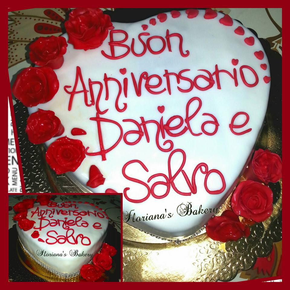 Preferenza Torte per Anniversari | Floriana's Bakery EU65